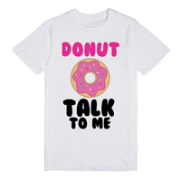 DONUT TALK TO ME