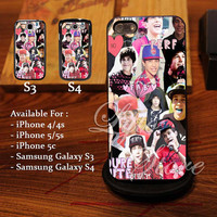 Austin Mahone Collage Love Art Design for iPhone 4, iPhone 4s, iPhone 5, Samsung Galaxy S3, Samsung Galaxy S4 Case