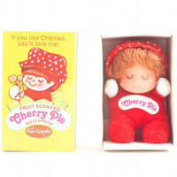 Cherry Pie Matchpack Doll Strawberry Shortcake Look Alike Kitsch Kawaii / Vintage 70s 80s