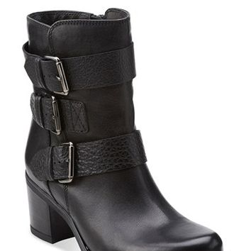 Women's Clarks 'Fernwood Lake' Moto Boot,
