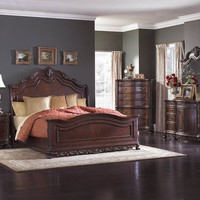 DERYN PARK BEDROOM COLLECTION - Sleigh Bed