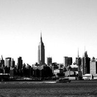 Empire State Building Skyline 16x20 Photography Print by thebqe