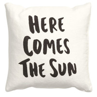 H&M Cushion Cover with Text Print $9.99