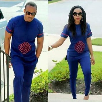 AFRICAN Unisex TOP WITH PANTS set