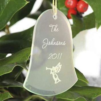 Glass Ornament - Bell Shaped