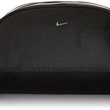 Men's Nike Golf Dopp Kit Travel Toiletry Bag, Black/Silver