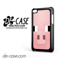 Minecraft Pig Pink Head DEAL-7282 Apple Phonecase Cover For Ipod Touch 4