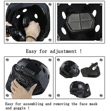 SINAIRSOFT  Tactical  Helmet  System    Goggle  Military