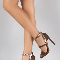 Qupid Elegant Open Toe Heel