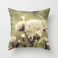 Flowers Throw Pillow by Architect´s Eye | Society6