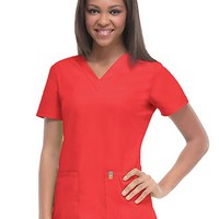 Buy Code Happy Antimicrobial Women's V-Neck Top for $19.98