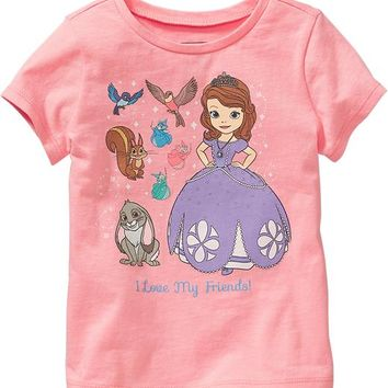 Disney© Sofia the First Tees for Baby