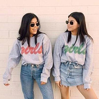 Friends Girls Duo Sweatshirt