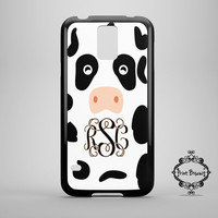 Cow Personalized Samsung Galaxy Phone Case, Galaxy S3 Case, Galaxy S4 Case, Samsung Galaxy S5 Case,  Monogram Phone Case #94