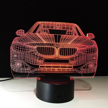 BMW 3D LED Night Light Lamp