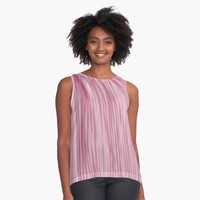 """paper strips"" Contrast Tank by BillOwenArt 