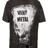 Horace 'Metal' T-shirt - Men's T-shirts & Tanks - Clothing - TOPMAN USA