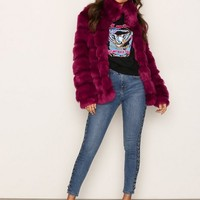 Puffy Fur Coat, NLY Trend