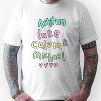 Ashton Luke Calum & Michael  Unisex T-Shirt