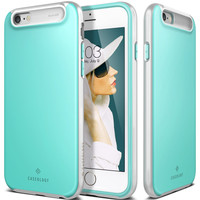 The Turquoise Mint Matte Finish Dual Layer Bumper iPhone 6/6s Case
