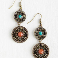 Boho Harmonious Hangout Earrings by ModCloth