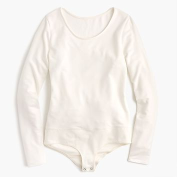 Women's Crewneck Long-Sleeve Bodysuit - Women's Knits | J.Crew