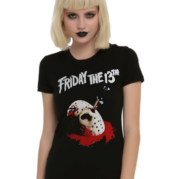 Friday The 13th Bloody Mask T-Shirt