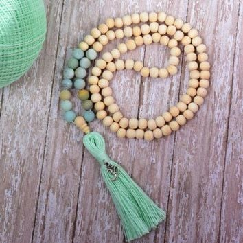 Mala Necklace, Buddhist Jewelry