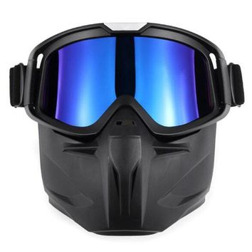 LumiParty Ski Goggles Face Mask Riding Protectors Off-road Goggles ski mirror for Skiing hiking Outdoor Equipment