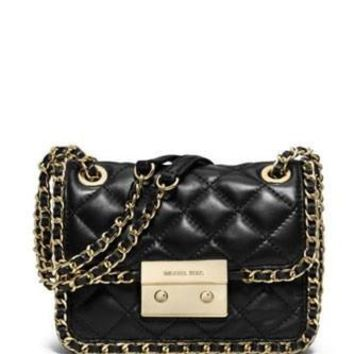 Michael Michael Kors Carine Medium Quilted Shoulder Bag