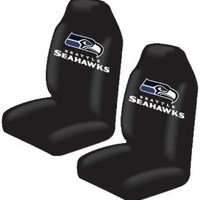 Bucket Seat Covers - NFL Football - Seattle Seahawks - Pair