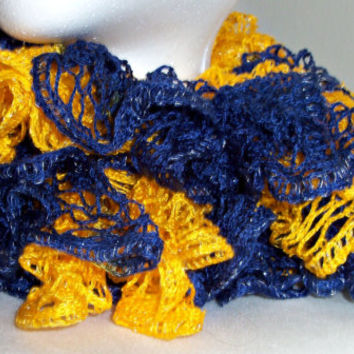 Team Spirit Sashay Scarf-Blue and Gold