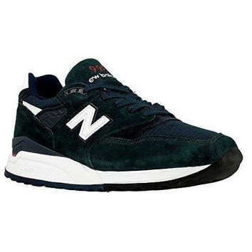 New Balance Men's M998chi Dark Green/white Made In Usa Sneakers Size 11.5