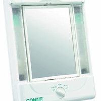 Conair Illumina Collection Two-Sided Makeup Mirror with 4 Light Settings