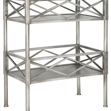 Jamese Storage Shelves Silver