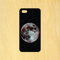 Trippy Moon Art Phone Case iPhone 4 / 4s / 5 / 5s / 5c /6 / 6s /6+ Apple Samsung Galaxy S3 / S4 / S5 / S6