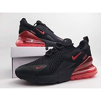 Nike Air Max 270 men and women The air cushion shoes