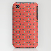 Passionate Polka Dots iPhone Case by Moonlight Studio | Society6