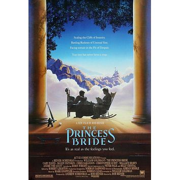 Vintage The Princess Bride Poster//Classic Movie Poster//Movie Poster//Poster Reprint//Home Decor//Wall Decor//Vintage Art