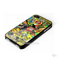Valentino Rossi VR46 Sticker Bomb Ducati MotoGP iphone Case 4 / 4s from gpfans
