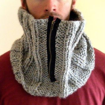 The University Cowl with zipper