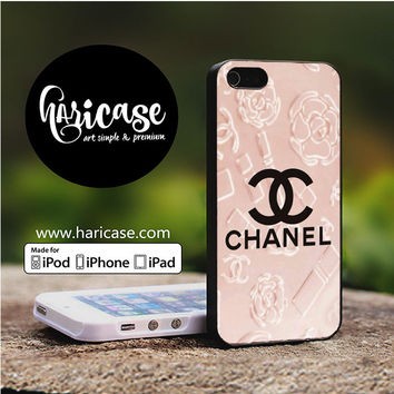 Chanel Flower Pink iPhone 5 | 5S | SE Cases haricase.com