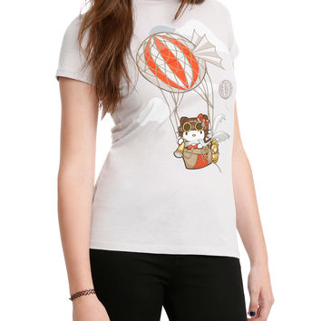 Hello Kitty Steampunk Balloon Girls T-Shirt