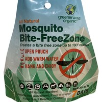 Greenerways Organic – All Natural Mosquito Bite-FreeZone