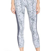 Zella 'Fly By' Print Running Midi Tights | Nordstrom
