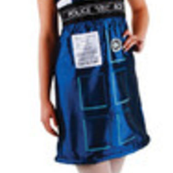 Doctor Who Tardis Dress Sm Md El404820