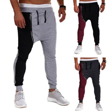 Men's Casual Baggy Hiphop Dance Jogger Pants