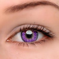 TTDeye Mystery Purple Colored Contact Lenses