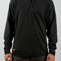 Fit Goosen Knit Hoodie Black Small