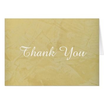 Tuscan Sun Thank You Card